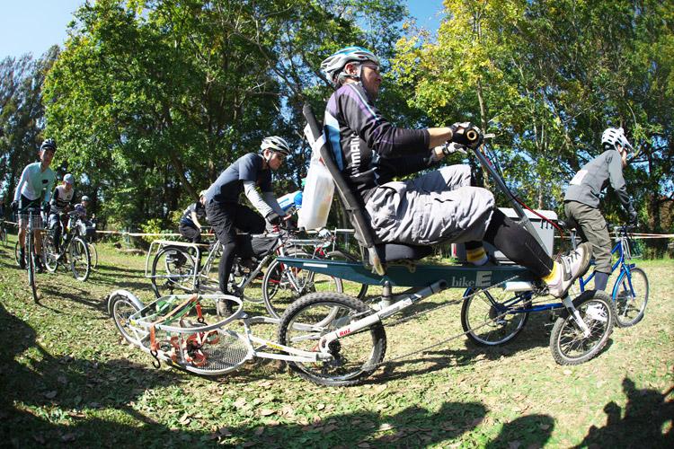 秋ヶ瀬の森バイクロア4カーゴバイク