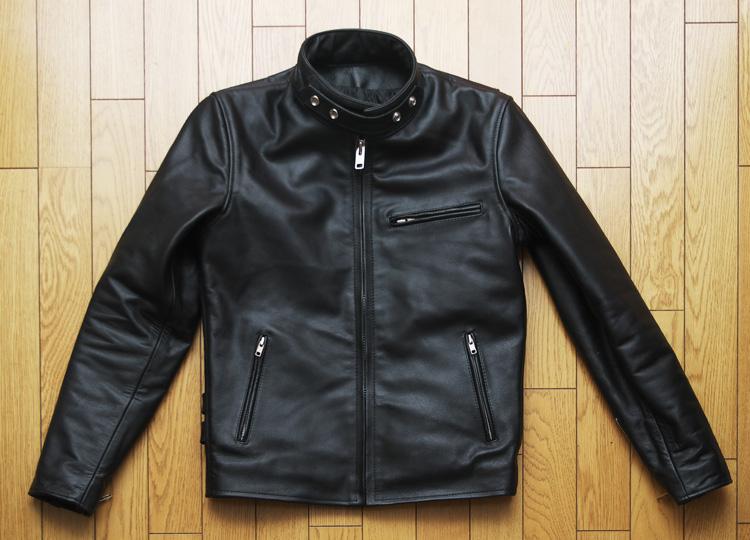 リューグーレザーズのシングルライダースジャケット