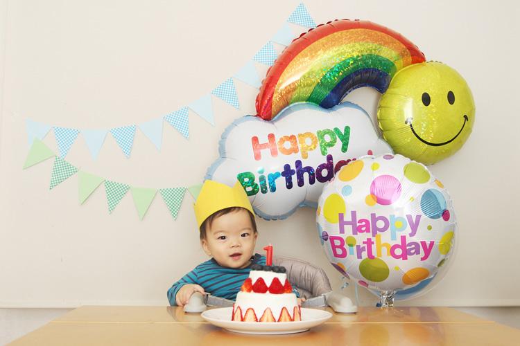 12月12日は息子 叶大の1歳の誕生日でした