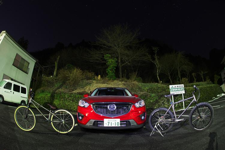 檜原村とCX-5
