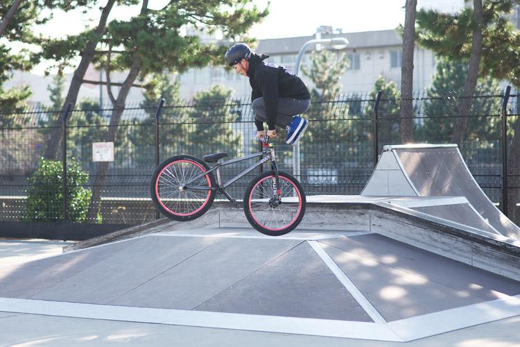 塩浜スケートパークストリートコンテストAKIRA