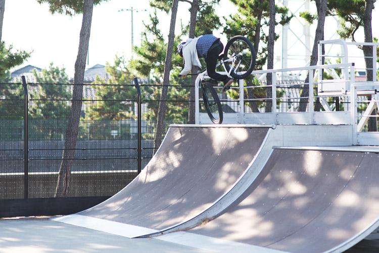 塩浜スケートパークストリートコンテストSeima