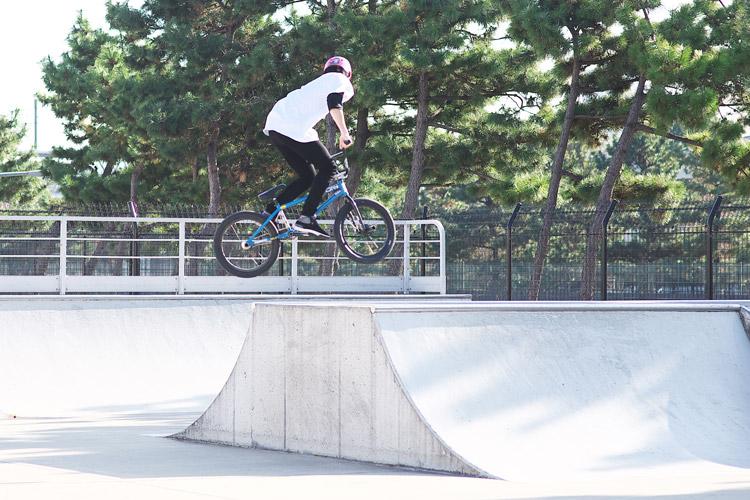 塩浜スケートパークストリートコンテストアムロ