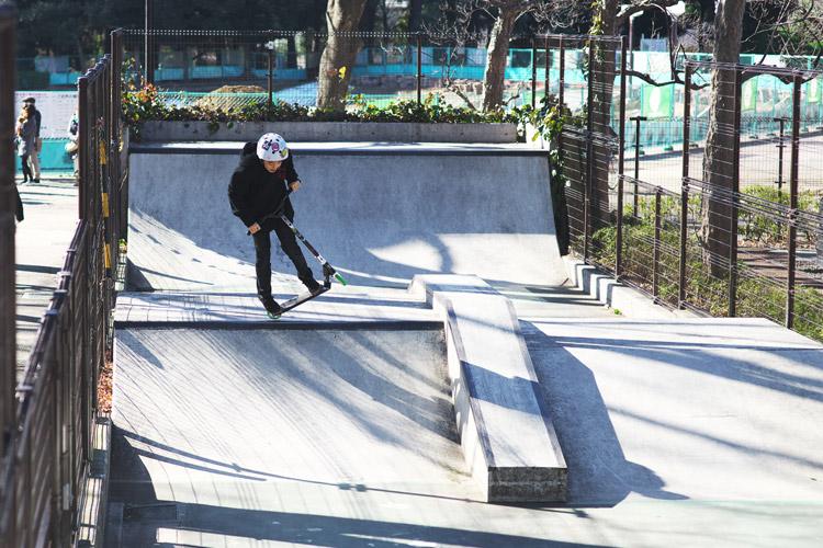 世田谷公園SLスケートパーク