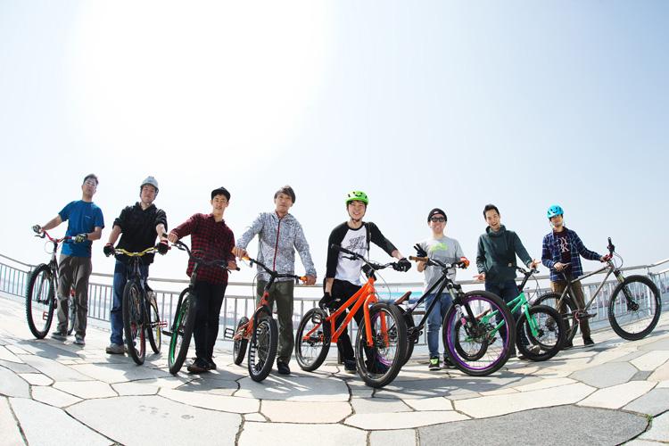 ストリートトライアルミーティング トライアルバイク MTB