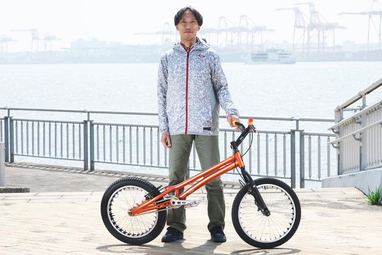 ストリートトライアルミーティング トライアルバイク MTB 増田さん ECHOトラ車