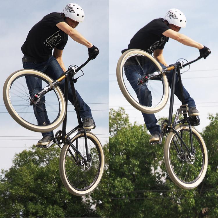 MTB マウンテンバイク フジモトさん ダートジャンプ ターンダウン
