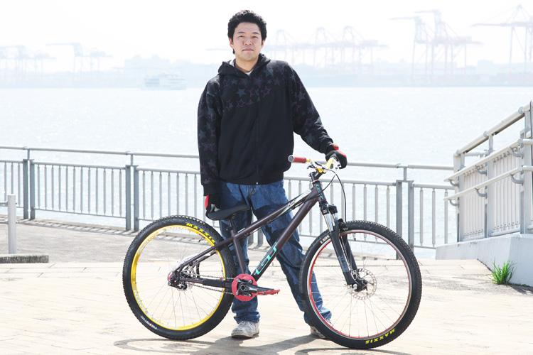 ストリートトライアルミーティング トライアルバイク MTB 高山さん GT