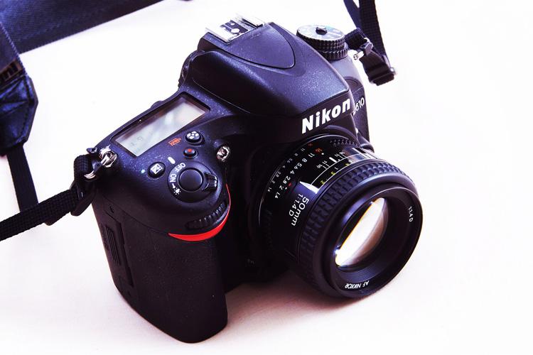 Nikon D610 単焦点レンズ Ai AF Nikkor 50mm F1.4D