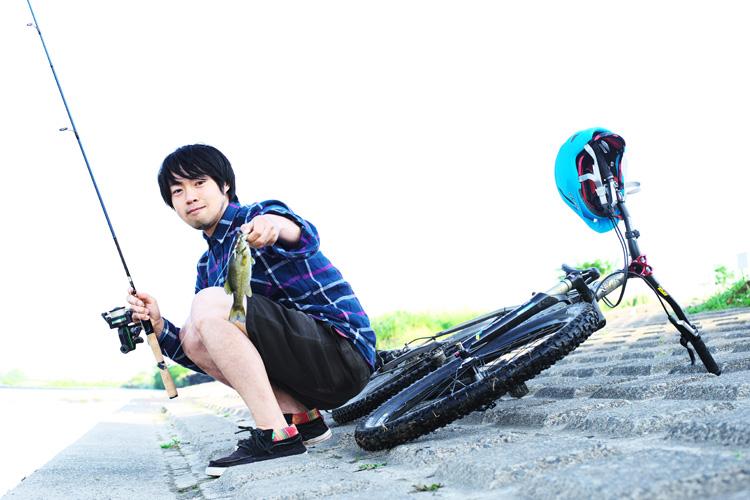 MTB マウンテンバイク YAMADORI 1st 26 多摩川河原サイクリングロード ルアー バスフィッシング スモールマウスバス