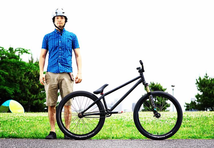 MTB マウンテンバイク SHAKA 城南島海浜公園スケートパーク