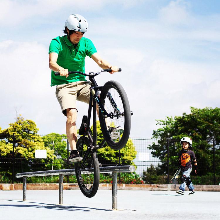 MTB マウンテンバイク SHAKA アイスピックグラインド