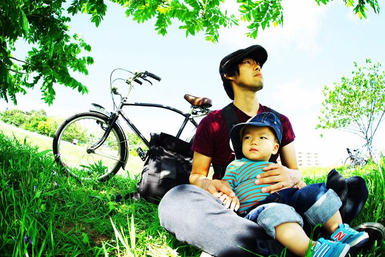 MTB マウンテンバイク 多摩川河原サイクリングロード