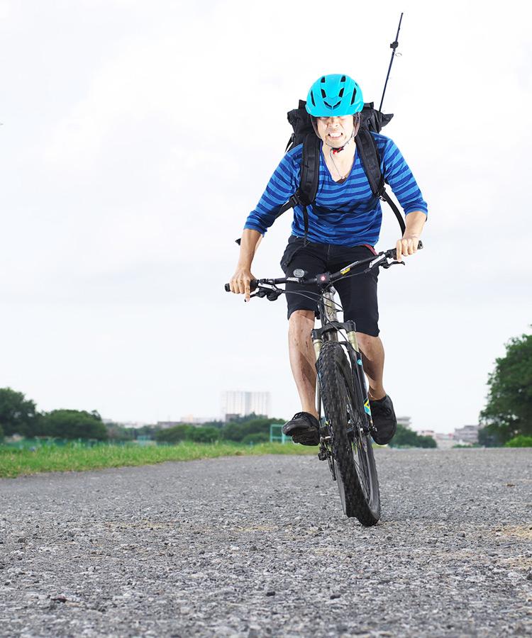 MTB マウンテンバイク YAMADORI 1st 26 多摩川河原サイクリングロード ジープロード鬼コギスプリント