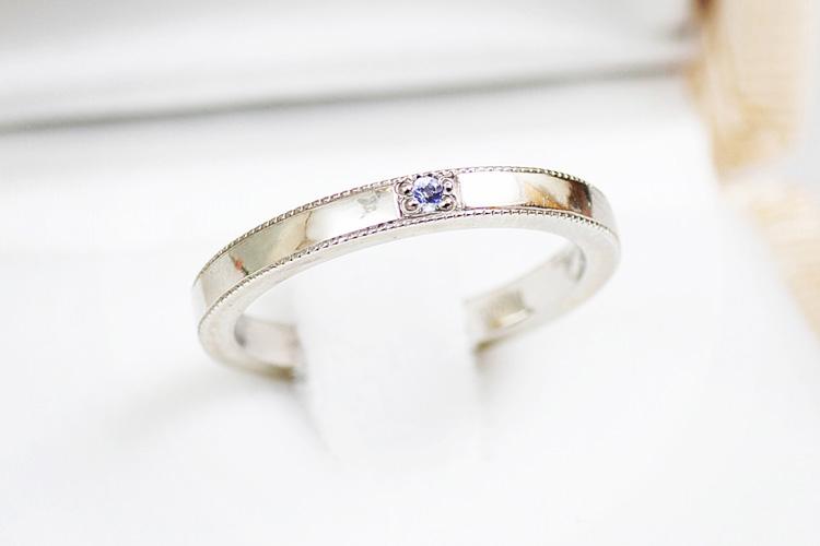 Rui & Aguri Fine Jewelryで受け取った奥さんの誕生日プレゼントの指輪