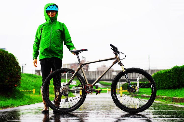MTB マウンテンバイク YAMADORI 1st 26 多摩川河原サイクリングロード