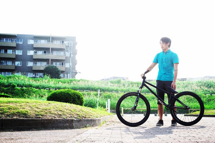 MTB マウンテンバイク SHAKA 多摩川河原サイクリングロード