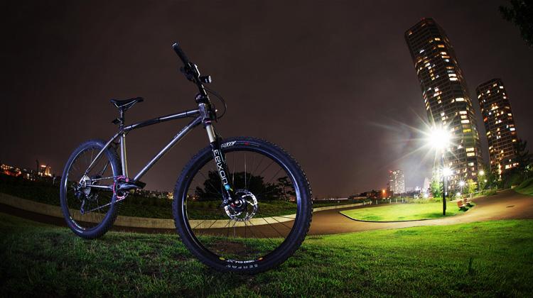 MTB マウンテンバイク YAMADORI 1st 26 多摩川河原サイクリングロード 二子玉川公園