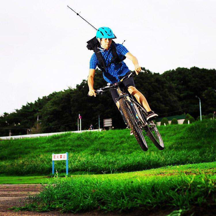 MTB マウンテンバイク YAMADORI 1st 26 盛土でモトウィップ