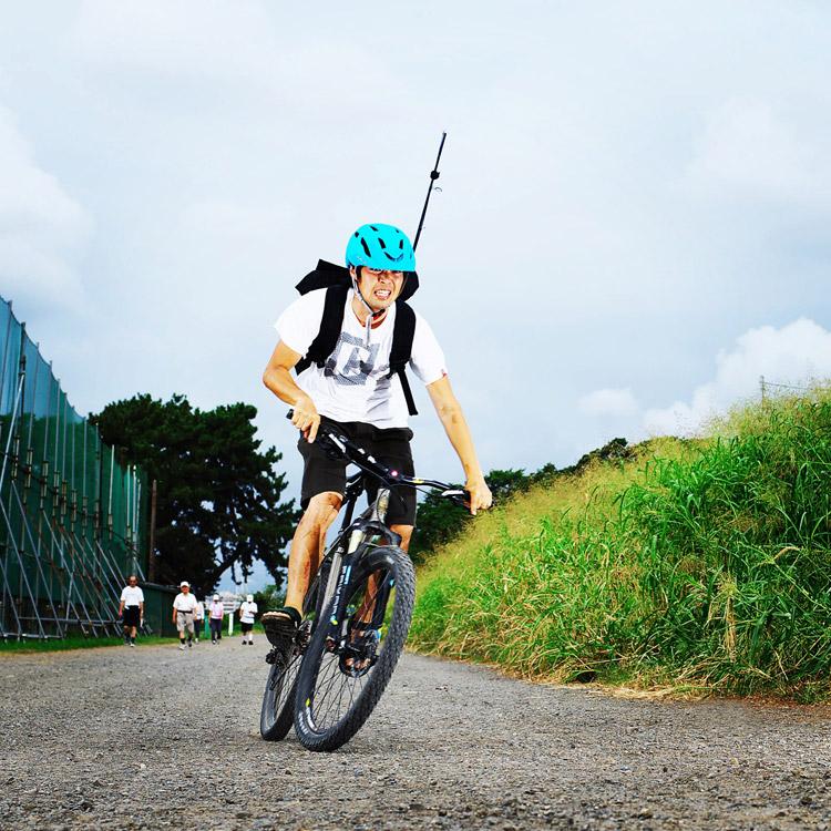 MTB マウンテンバイク YAMADORI 1st 26 多摩川河原サイクリングロード ジープロードを鬼コギで帰る