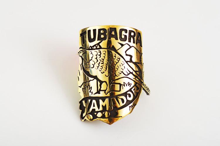 Rui & Aguri Fine Jewelry製のTUBAGRA YAMADORIヘッドバッジ