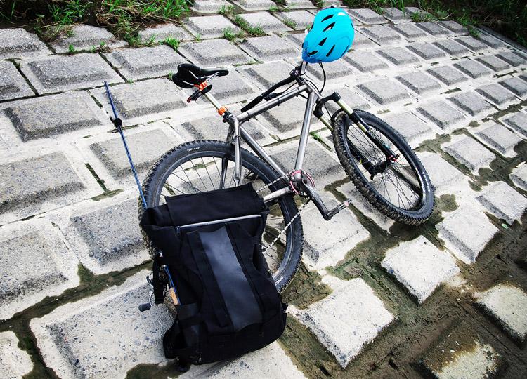 MTB マウンテンバイク YAMADORI 2nd 26とberuf baggage MountainPack