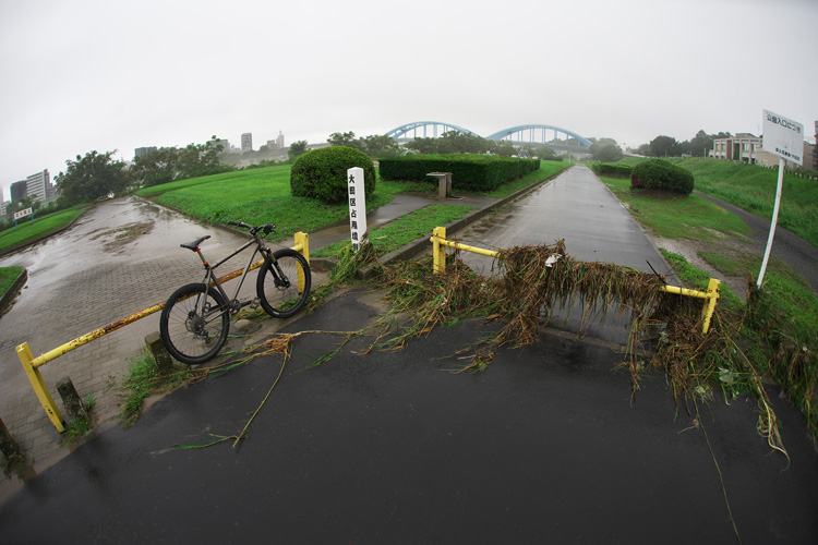氾濫した多摩川とYAMADORI 2nd 26