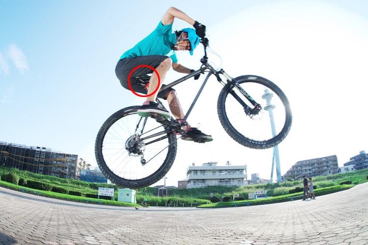 MTB マウンテンバイク YAMADORI 2nd 26 多摩川河原サイクリングロード バニーホップ
