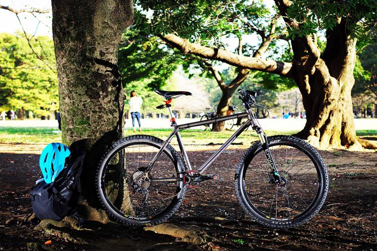 MTB マウンテンバイク YAMADORI 2nd 26 代々木公園