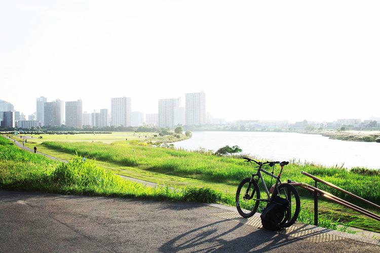 多摩川サイクリングロードを走って羽田空港を目指してみた
