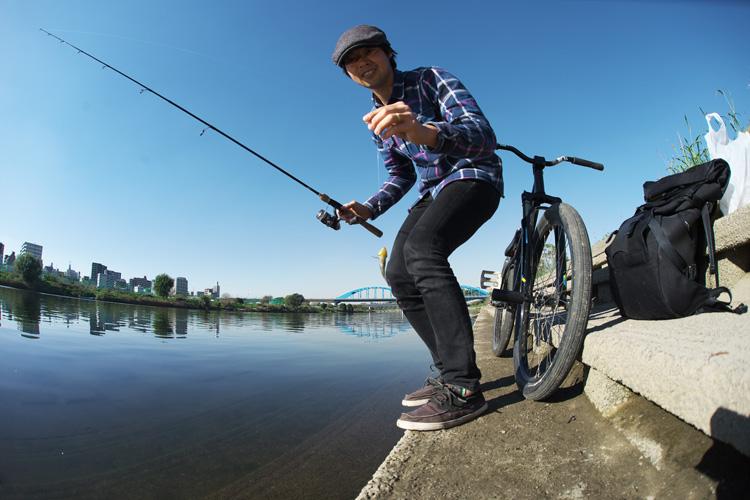 多摩川で釣れたヌマチチブ