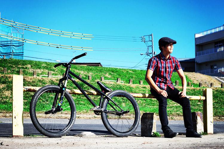 MTB マウンテンバイクSHAKA 多摩川河原サイクリングロード