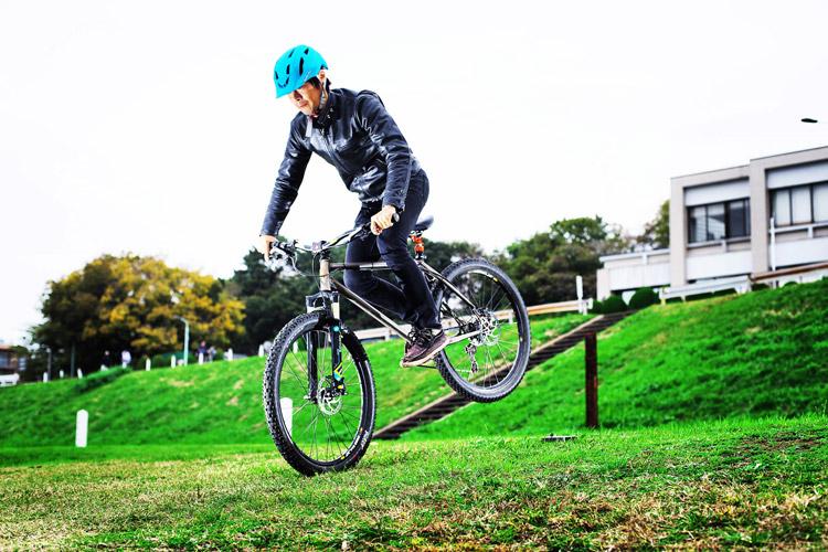 MTB マウンテンバイク YAMADORI 2nd 26 多摩川サイクリングロード ストッピー