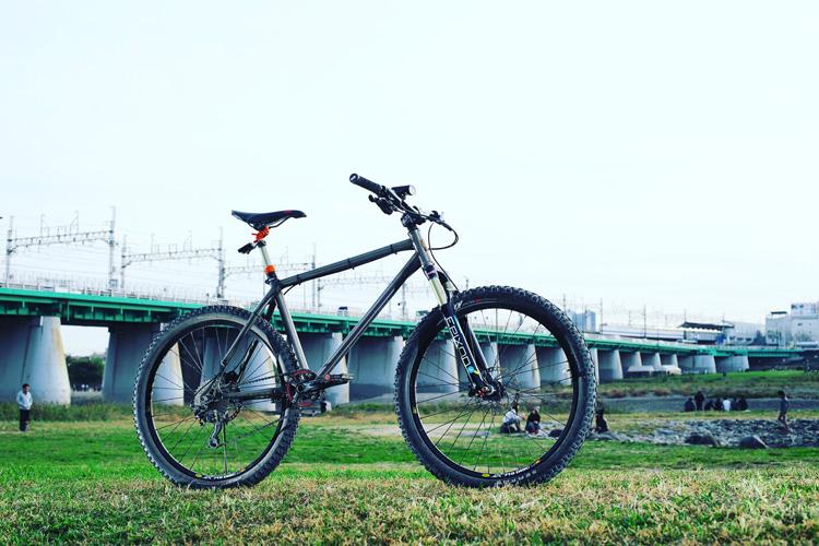 MTB マウンテンバイク YAMADORI 2nd 26 多摩川サイクリングロード