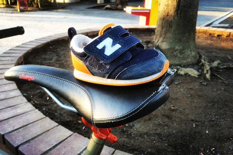 なくした息子の片方の靴が見つかりました