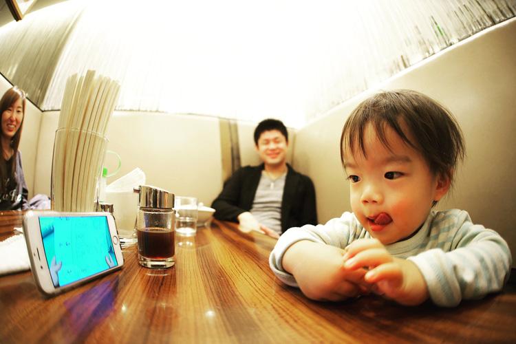 羽田空港のレストランの叶大