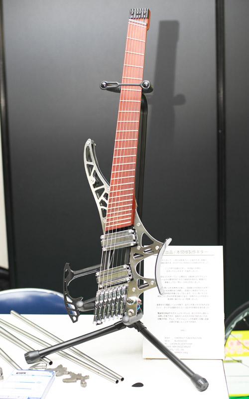 ハンドメイドバイシクル展2016 本間様作成ギター