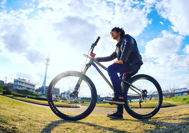 多摩川サイクリングロード croMOZU275