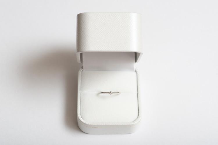 Rui & Aguri Fine Jewelryで受け取った奥さんの誕生日プレゼントのダイヤモンドの指輪