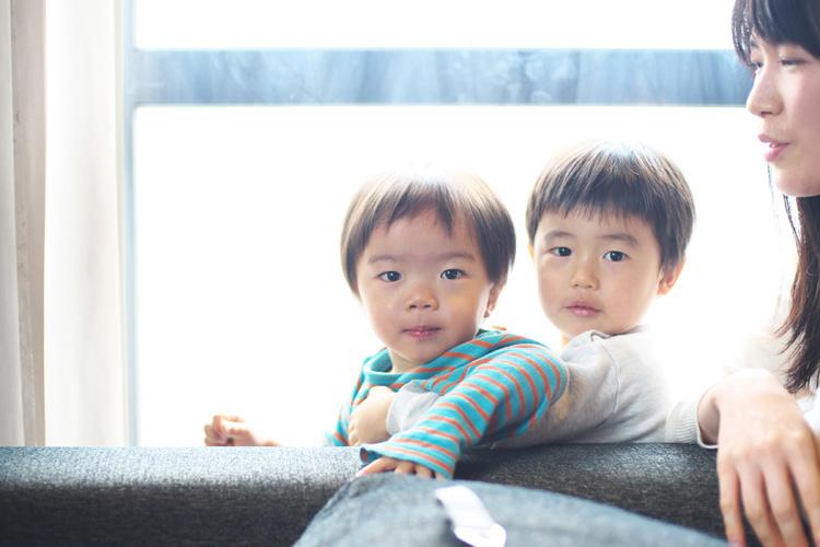 幼なじみ宅で新年会 叶大と幼なじみの息子