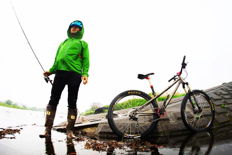 croMOZU275 2nd TEST多摩川河原サイクリングコース