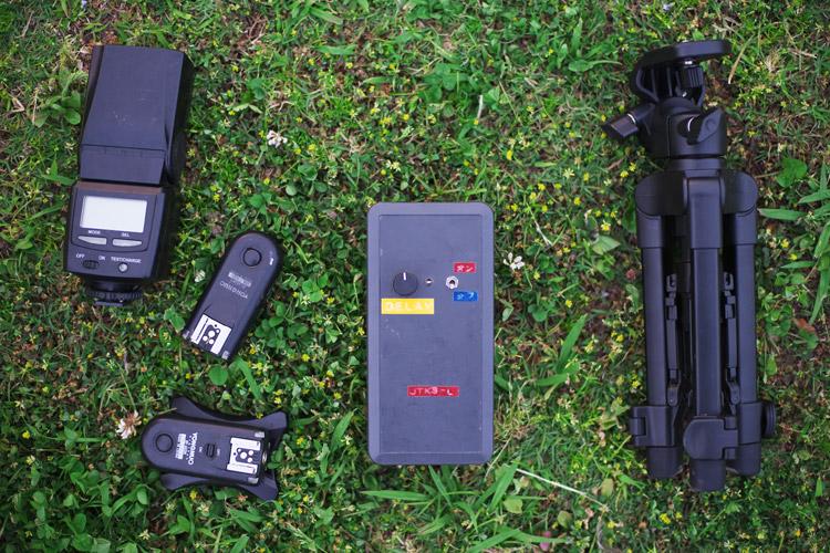 散田(サンタ)式自撮りリモート機器 JTK3-L