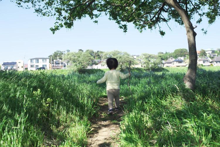 多摩川河原ダートコースを走る叶大