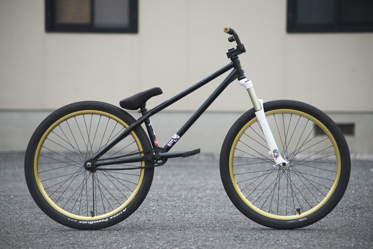 TUBAGRA Rider YAMATO君のSHAKAバイク