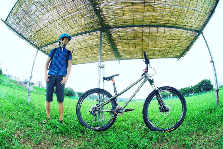 croMOZU275 2nd多摩川河原サイクリングコース