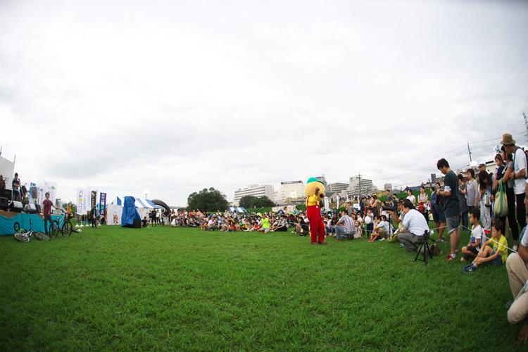 せいせきみらいフェスティバルでMTBショーをしてきました