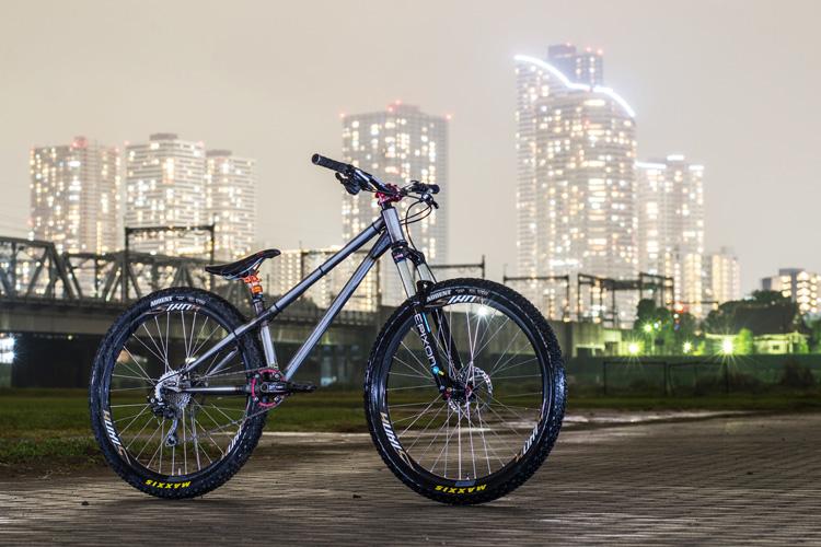 croMOZU275 3rd TEST多摩川河原サイクリングコース