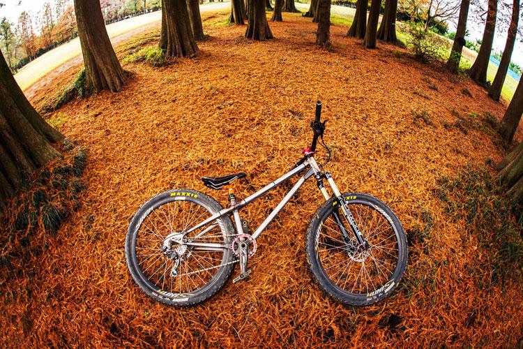 秋ヶ瀬の森公園にバイクロア6の下見に行ってきました croMOZU275 3rd test