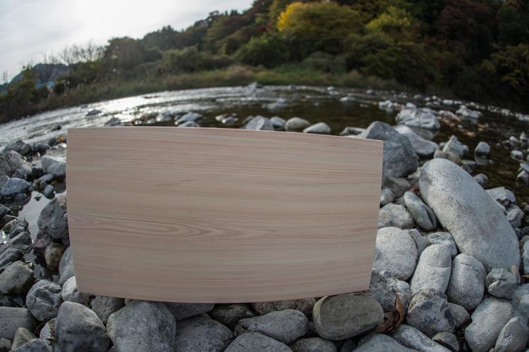 多摩産材の高級まな板