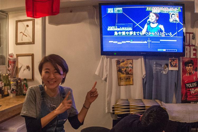 秋ヶ瀬の森バイクロア6の打ち上げ 浦和フスバル 武田 和佳選手